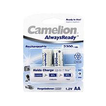 CAMELION NH-AA2300ARBP2 Аккумуляторная батарея AlwaysReady Rechargeable, AA, 1.2V, 2300 mAh, 2 шт. в блистере