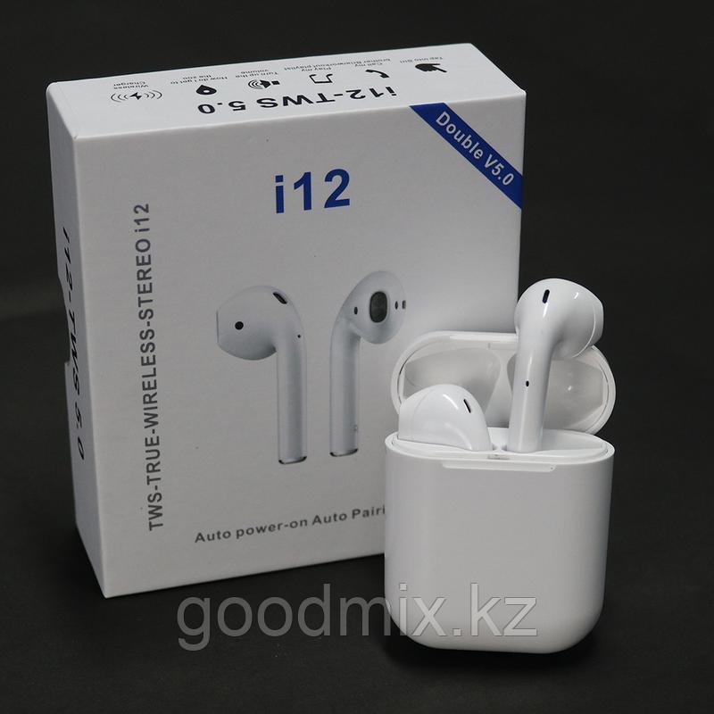 Беспроводные Наушники i12-TWS Bluetooth 5.0