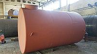 Резервуар горизонтальный стальной, тип РГС - 25м3 для хранения воды