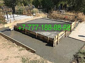 Гранитный комплекс на кладбище, фото 3