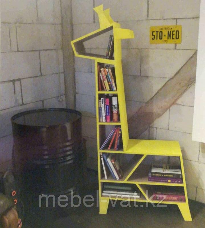 """Книжный шкаф """"Жираф"""" . Эксклюзивная мебель на заказ"""