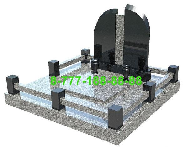 Благоустройство могилы, фото 2