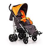 Коляска для детей с ДЦП UMBRELLA NEW размер 1, пневмо колёса, складная,15 кг, нагрузка до 40 кг, фото 3