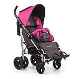 Коляска для детей с ДЦП UMBRELLA NEW размер 1, пневмо колёса, складная,15 кг, нагрузка до 40 кг, фото 4