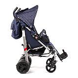 Коляска для детей с ДЦП UMBRELLA NEW размер 1, пневмо колёса, складная,15 кг, нагрузка до 40 кг, фото 6
