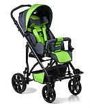Коляска для детей с ДЦП JUNIOR литые колёса, складная,  20 кг, нагрузка до 30 кг, фото 3