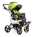 Коляска для детей с ДЦП JUNIOR PLUS литые колёса, складная,  20 кг, нагрузка до 40 кг, версия О, фото 2