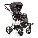 Коляска для детей с ДЦП JUNIOR PLUS литые колёса, складная,  20 кг, нагрузка до 40 кг, версия О, фото 4