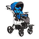 Коляска для детей с ДЦП JUNIOR PLUS литые колёса, складная,  20 кг, нагрузка до 40 кг, версия О, фото 5