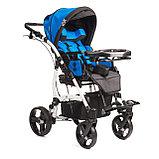 Коляска для детей с ДЦП JUNIOR PLUS литые колёса, складная,  20 кг, нагрузка до 40 кг, версия О, фото 10