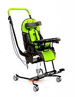 Коляска для детей с ДЦП JUNIOR PLUS HOME литые колёса, стальная рама, столик, 20 кг, нагрузка до 60 кг
