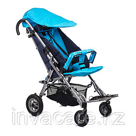 Коляска для детей с ДЦП SWEETY размер 2, пневмо колёса, складная, 20 кг, нагрузка до 60 кг