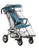 Коляска для детей с ДЦП SWEETY размер 2, пневмо колёса, складная, 20 кг, нагрузка до 60 кг, фото 3