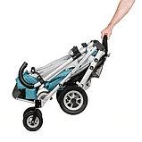 Коляска для детей с ДЦП SWEETY размер 2, пневмо колёса, складная, 20 кг, нагрузка до 60 кг, фото 5