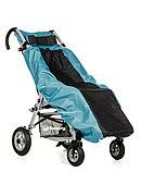 Коляска для детей с ДЦП SWEETY размер 2, литые колёса, складная, 20 кг, нагрузка до 60 кг, фото 4