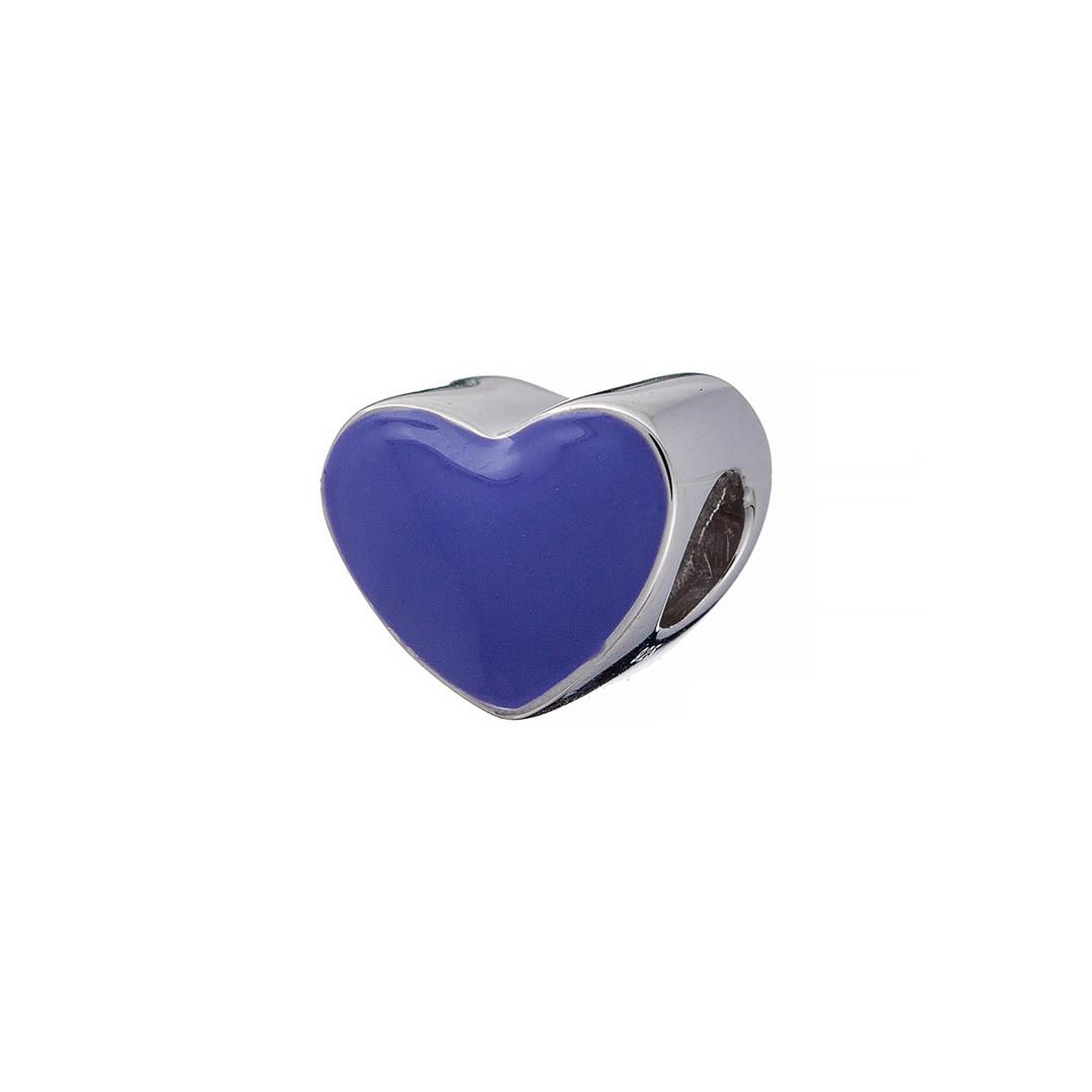 Шарм Brosh Jewellery (Серебро 925) Эмаль фиолетовая.