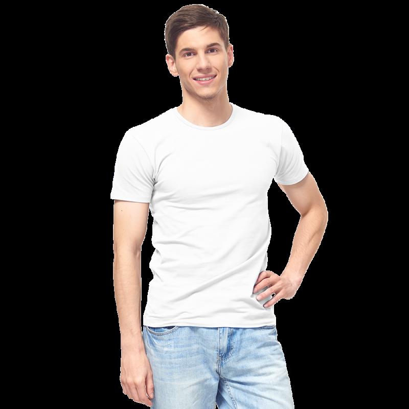 Мужская футболка-стрейч, StanSlim, 37, Белый (10/1), L/50