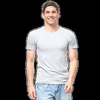 Мужская футболка-стрейч, StanSlim, 37, Серый меланж (50/1), M/48