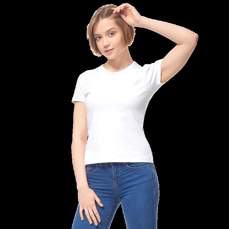 Женская футболка-стрейч, StanSlimWomen, 37W, Белый (10/1), XS/42