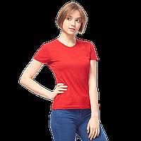 Женская футболка-стрейч, StanSlimWomen, 37W, Красный (14/1), M/46, фото 1