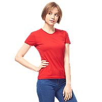 Женская футболка-стрейч, StanSlimWomen, 37W, Красный (14/1), S/44, фото 1