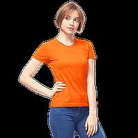 Женская футболка-стрейч, StanSlimWomen, 37W, Оранжевый (28/1), S/44