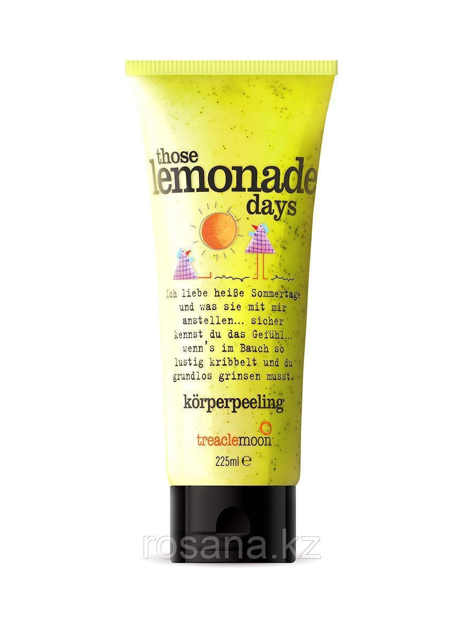 Treaclemoon / Скраб для тела Домашний лимонад