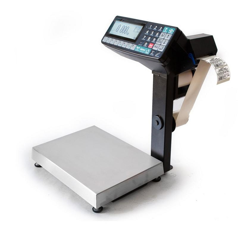 Весы с печатью этикеток MK-32.2-R2P10-1