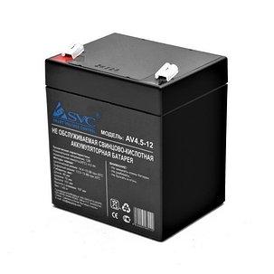 Аккумуляторная батарея SVC AV4.5-12 12В 4.5 Ач, фото 2