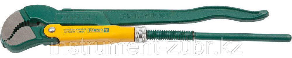 Ключ трубный KRAFTOOL PANZER-S, №1, изогнутые губки