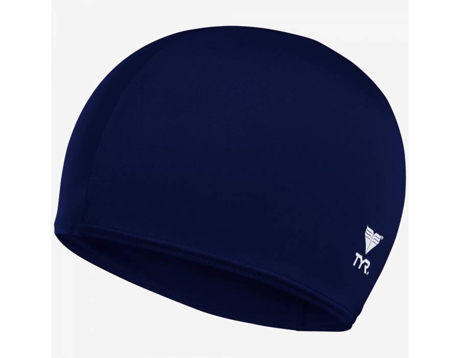 Шапочка плавательная TYR Lycra Fiber Swim Cap 401