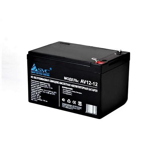 Аккумуляторная батарея SVC AV(VP)12-12 12В 12 Ач