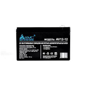 Аккумуляторная батарея SVC AV(VP)12-12 12В 12 Ач, фото 2