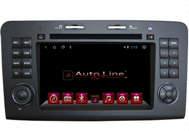 Автомагнитола Kaier Mercedes-Benz ML 2004-2007 HD ЭКРАН 1024-600 ПРОЦЕССОР 8 ЯДЕР (OCTA CORE)