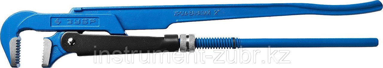 """Ключ трубный ЗУБР Тип """"М"""", №3, прямые губки"""