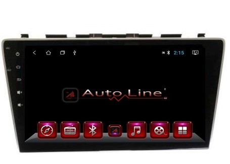 Автомагнитола AutoLine HONDA CR-V 2007-2012 HD ЭКРАН 1024-600 ПРОЦЕССОР 8 ЯДЕР (OCTA CORE)
