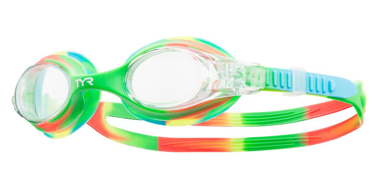 Детские очки для плавания TYR Swimple Tie Dye 307