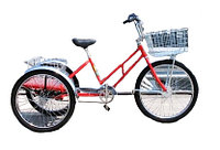 Велосипед грузовой трехколесный Worksman Adaptable Industrial Tricycle ADP-CB