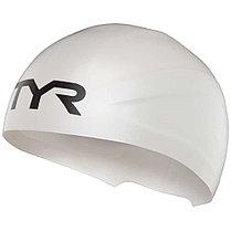 Шапочка плавательная TYR Wall-Breaker Silicone Race Cap 100