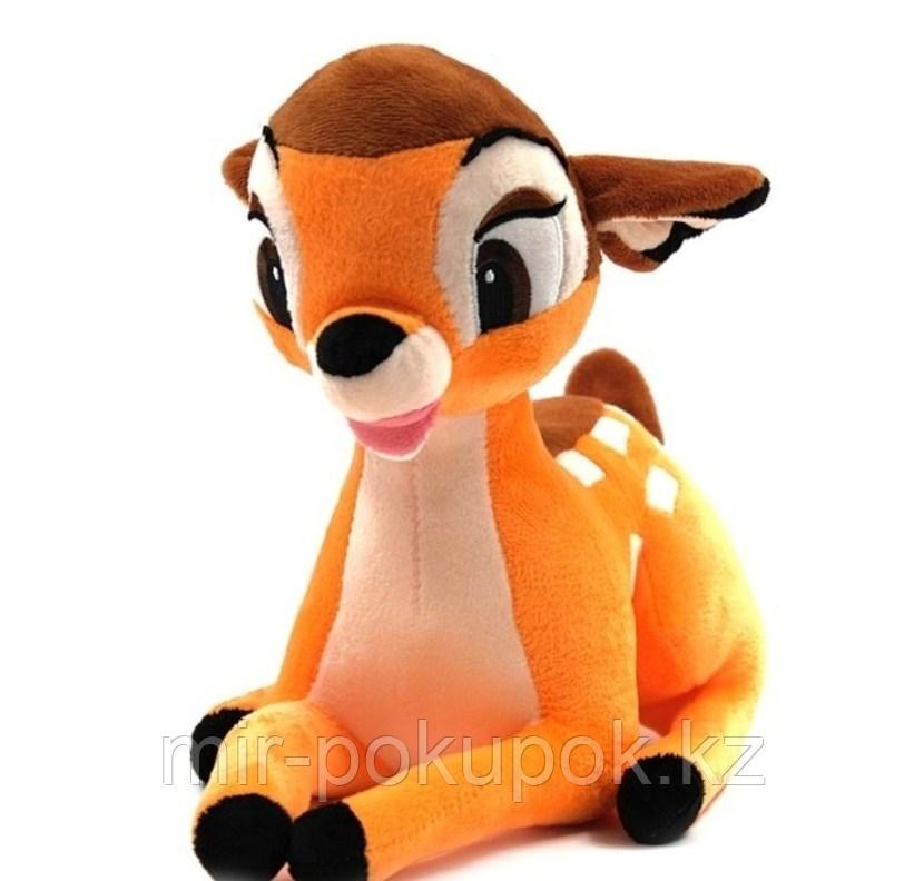 """Мягкая игрушка олененок """"Бэмби"""" 34 см"""