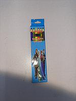 Цветные карандаши Limpopo 6 цветов, фото 1