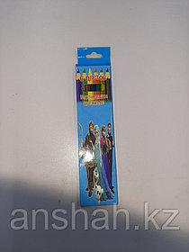Цветные карандаши Limpopo 6 цветов