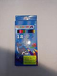 Цветные карандаши Monster High 12 цветов, фото 3