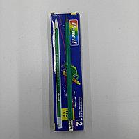 Простые карандаши Conte с резинкой белый 12 шт