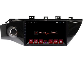 Автомагнитола AutoLine Kia Rio 2017-2018 HD ЭКРАН 1024-600 ПРОЦЕССОР 4 ЯДРА (QUAD CORE)