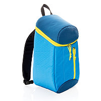 Рюкзак-холодильник Hiking, 10л, синий; желтый, Длина 22 см., ширина 15 см., высота 38 см., P733.075
