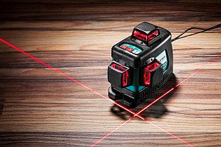 """Нивелир лазерный """"LL-3D-4"""", 360 градусов, 20м / 70м (детектор), сверхъяркий, KRAFTOOL 34640-4, фото 2"""