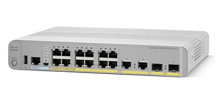 Коммутатор Cisco Catalyst 3560-CX 12 Port PoE IP Base, фото 2