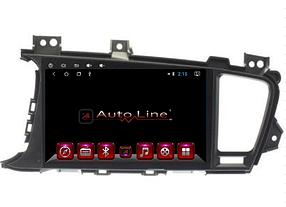 Автомагнитола AutoLine KIA Optima/K5 2011-2013 HD ЭКРАН 1024-600 ПРОЦЕССОР 4 ЯДРА (QUAD CORE)