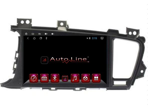 Автомагнитола AutoLine KIA Optima/K5 2011-2013 HD ЭКРАН 1024-600 ПРОЦЕССОР 4 ЯДРА (QUAD CORE), фото 2